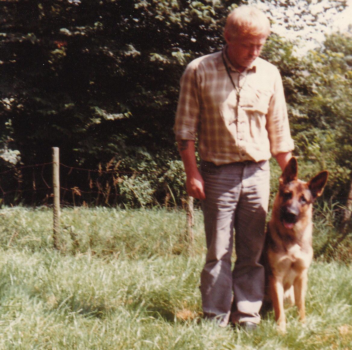 Erik Berg Madsen og Bachus (Barre)
