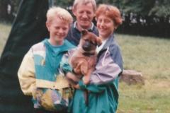 Brian, Lars Cherie og Ellen