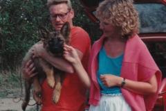Knud Erik og Channi