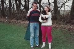 Dino og Jannie Isaksen